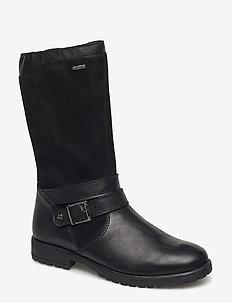 GALAXY - vinter boots - black combi