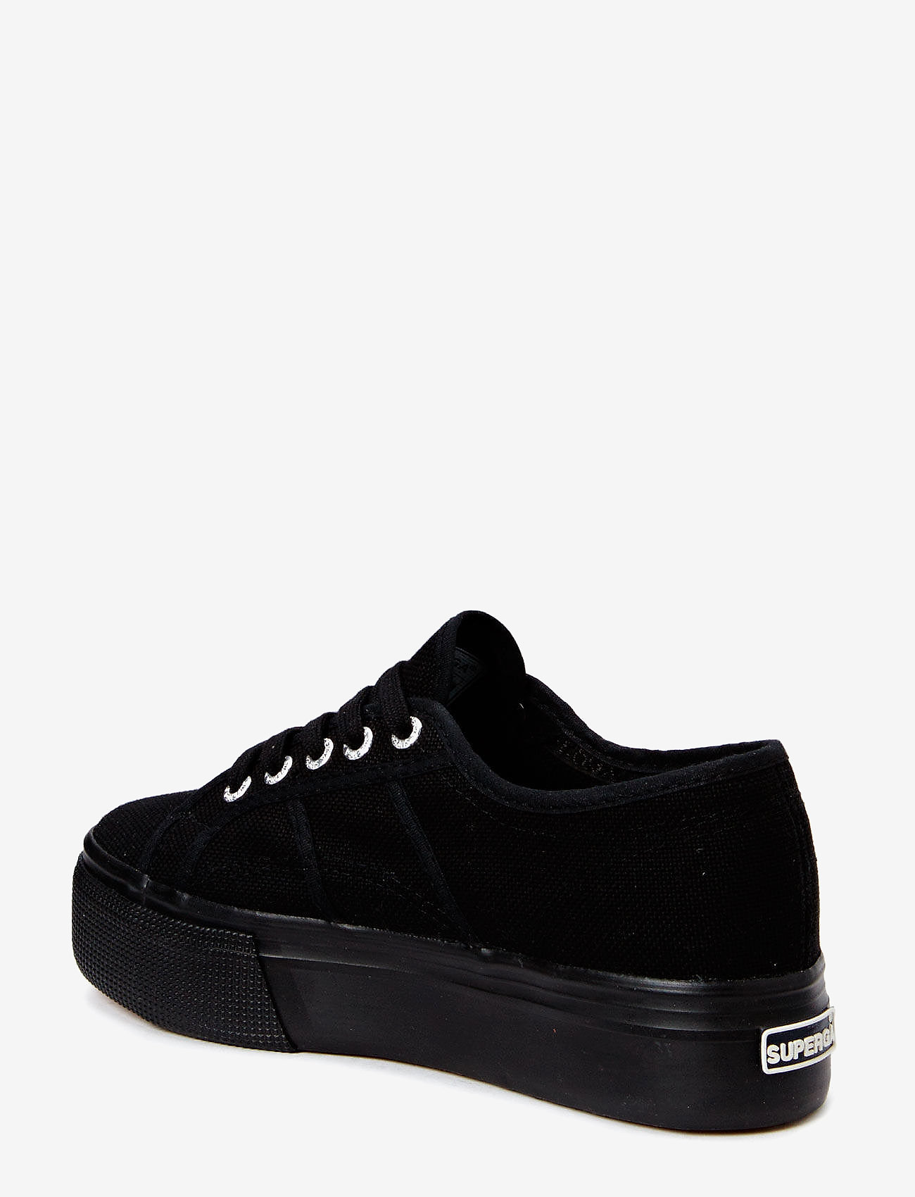 Superga - Superga 2790-Acotw Linea - lave sneakers - full black - 1