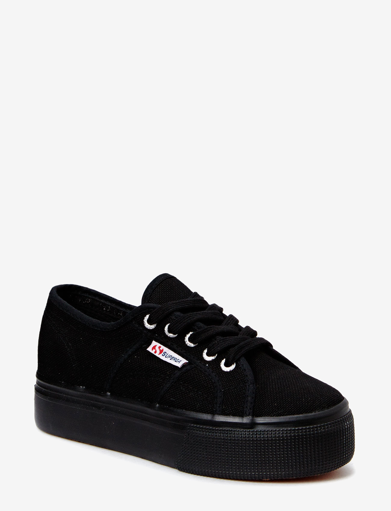 Superga - Superga 2790-Acotw Linea - lave sneakers - full black - 0