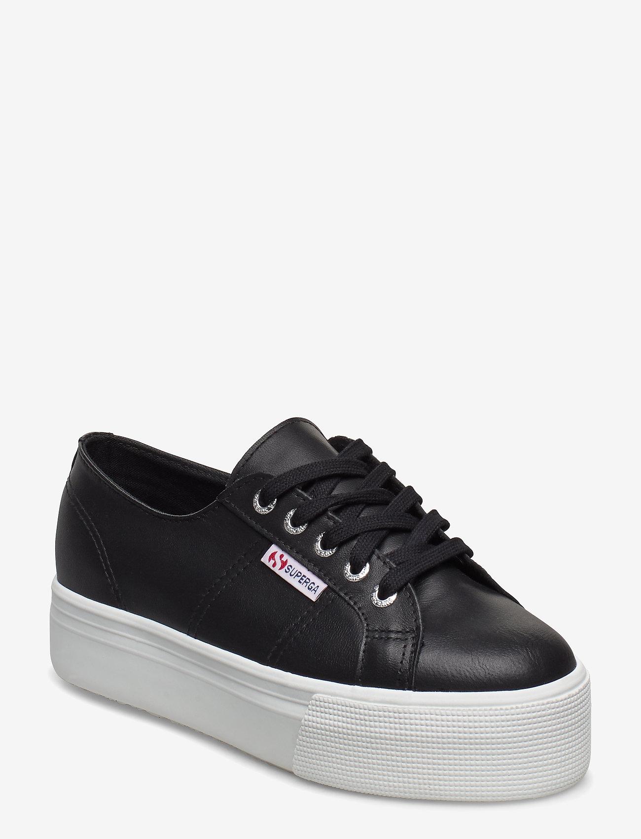 Superga - Superga 2790 NAPLNGCOTW - låga sneakers - black-white - 0