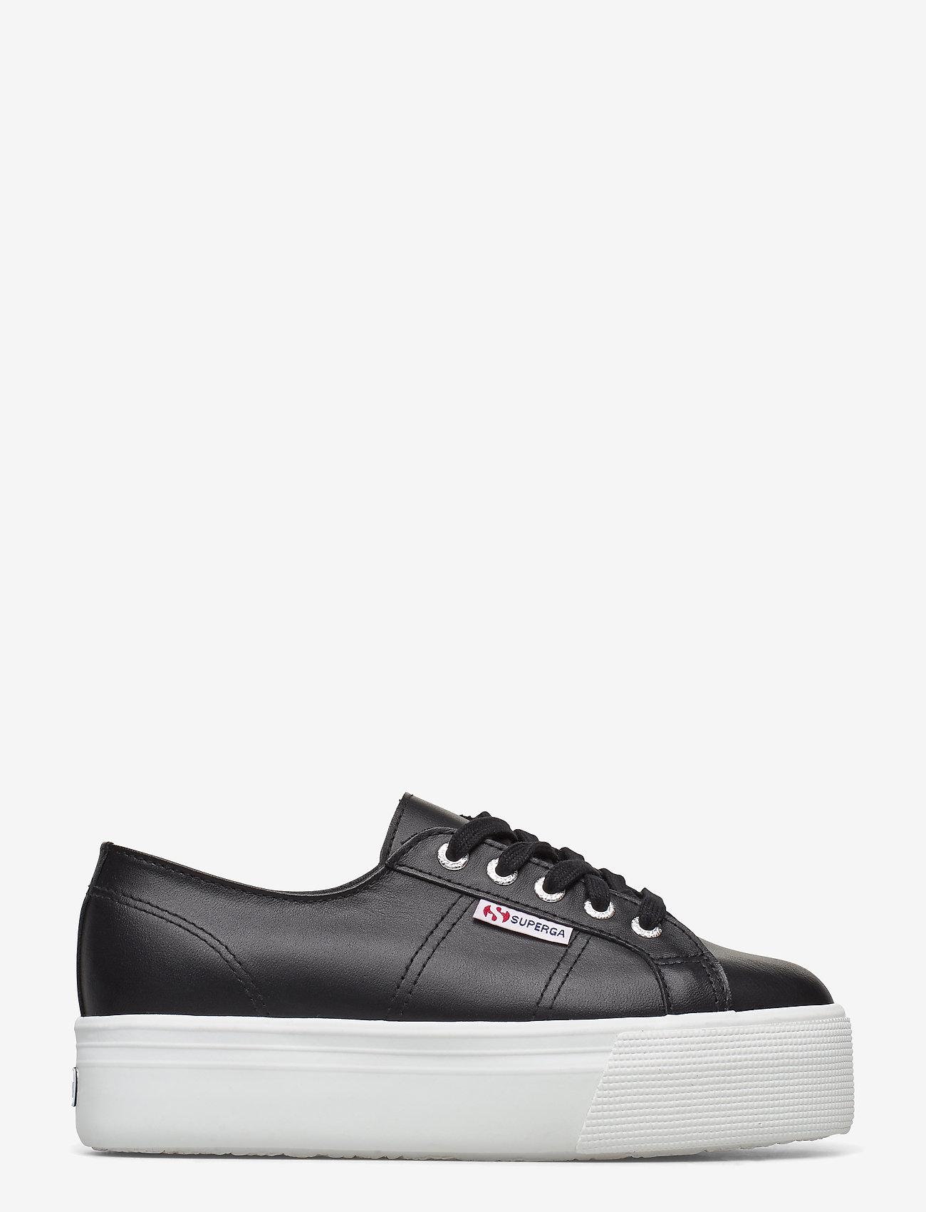 Superga - Superga 2790 NAPLNGCOTW - låga sneakers - black-white - 1