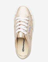 Superga - Superga 2750-LAMEW - sportiska stila apavi ar pazeminātu potītes daļu - yellow gold - 3