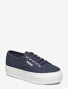 Superga 2790-Acotw Linea - låga sneakers - navy-white