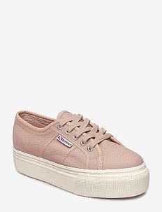Superga 2790-Acotw Linea - låga sneakers - rose mahogany