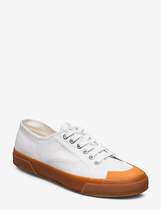 Superga 2390 COTU - matalavartiset tennarit - white-gum f95