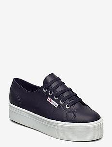 Superga 2790 NAPLNGCOTW - låga sneakers - navyblue