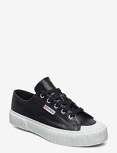 Superga 2630 COWNAPPAU - sneakers med lav ankel - black