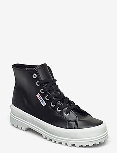 Superga 2341 ALPINA NAPPALEAU - sneakers med høy ankel - black