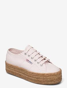 Superga 2790 JUTE ROPE - låga sneakers - pink lt