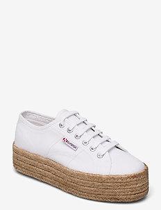Superga 2790 JUTE ROPE - låga sneakers - white