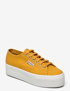 Superga 2790-Acotw Linea - låga sneakers - yellow golden