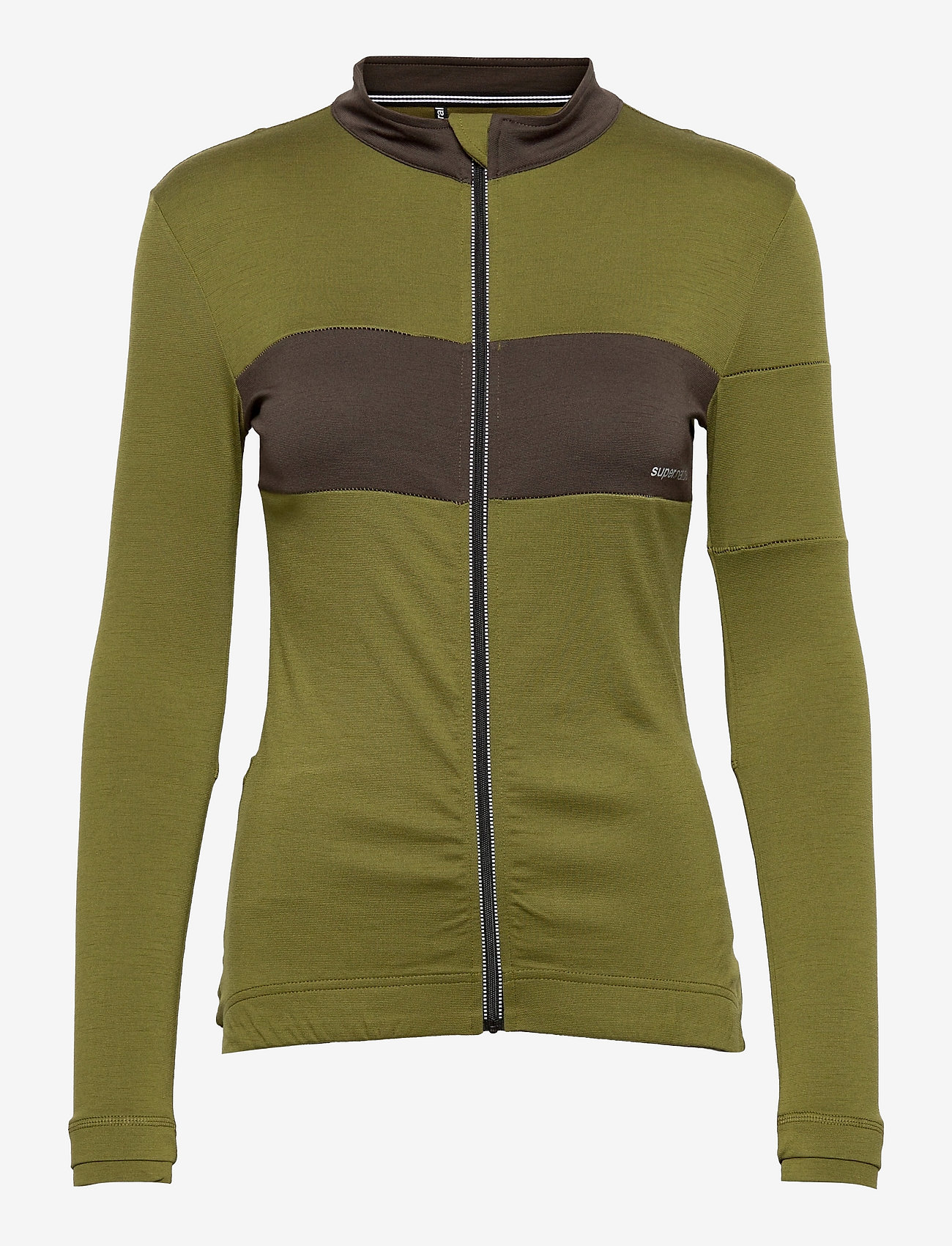 super.natural - W GRAVA LS JERSEY - sweatshirts - avocado/wren - 0