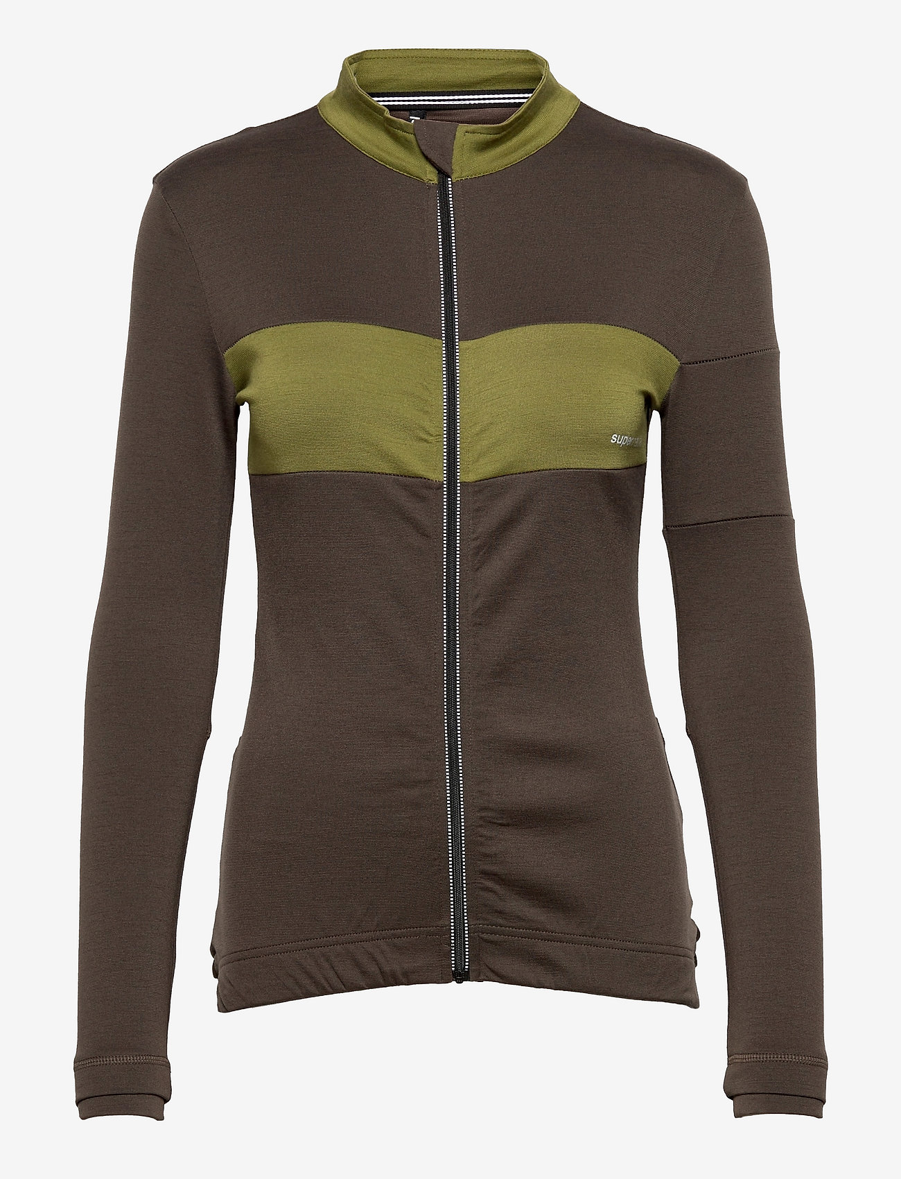 super.natural - W GRAVA LS JERSEY - sweatshirts - wren/avocado - 0