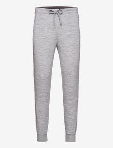 M CITY CUFFED - spodnie treningowe - ash melange