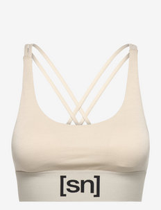 W SUPER TOP - sport bras: low support - oyster grey