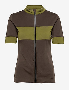 W GRAVA JERSEY - t-shirts - wren/avocado