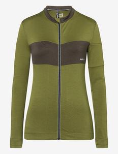 W GRAVA LS JERSEY - sweatshirts - avocado/wren