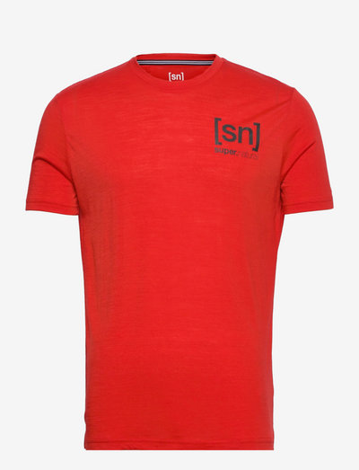 M ACTIVE TEE - termo undertrøje - high risk red