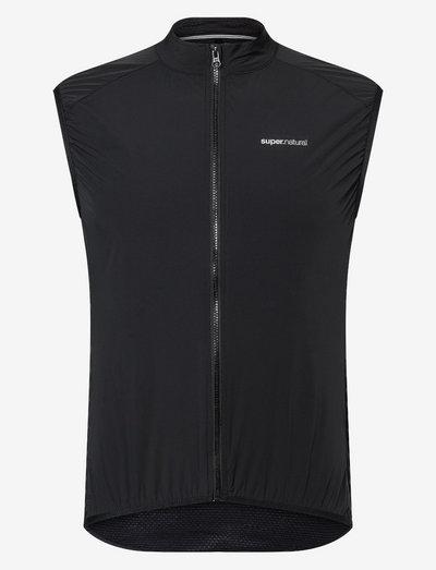 M UNSTOPPABLE GILET - sports jackets - jet black
