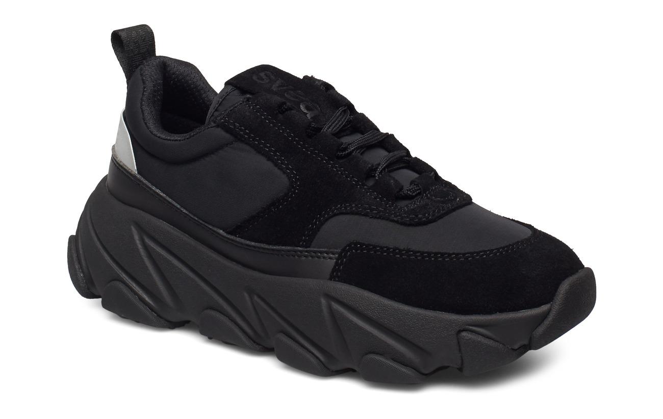Svea Fire Sneaker - BLACK