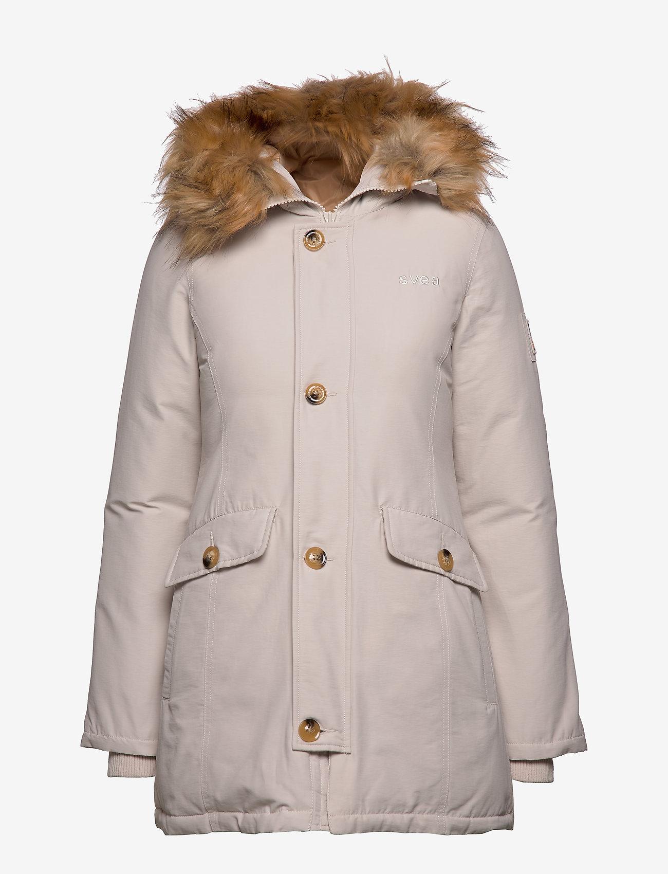 Svea - Miss Smith Jacket - gewatteerde jassen - offwhite - 0