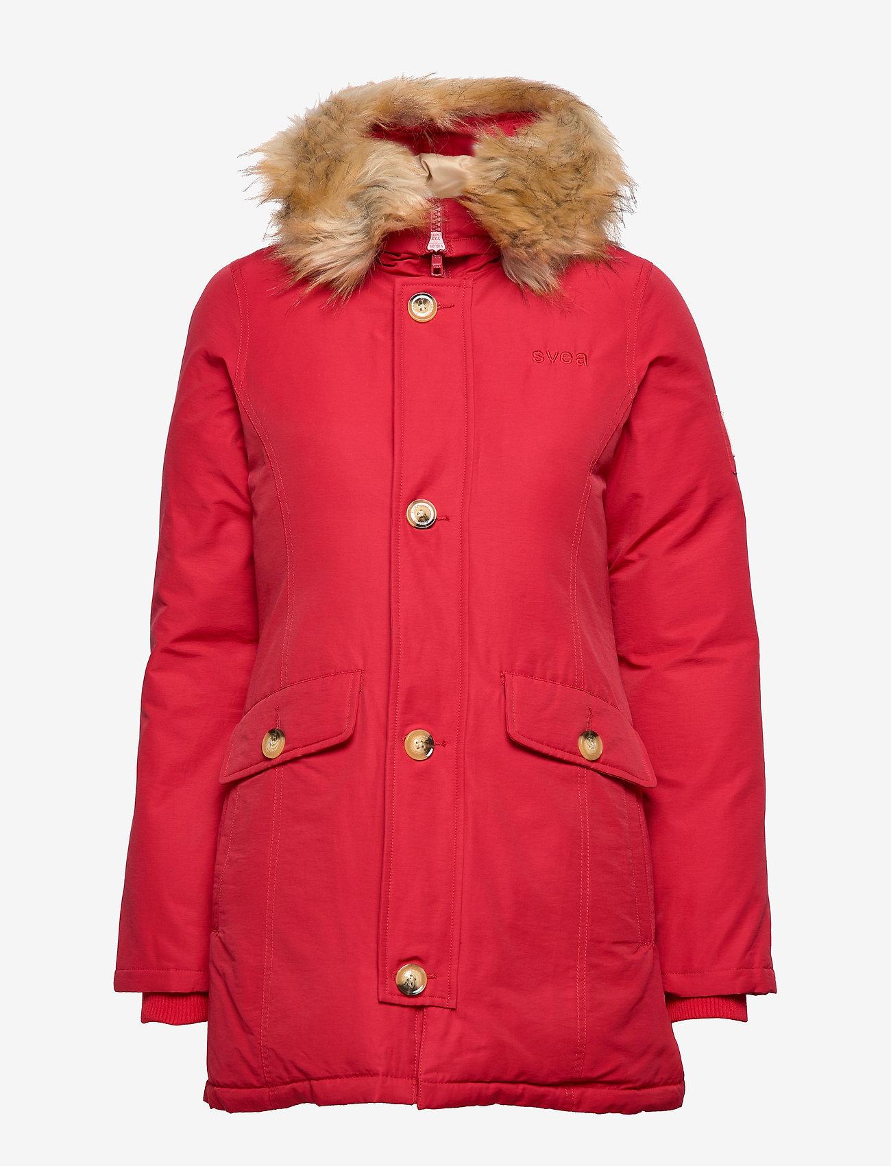 Svea - Miss Smith Jacket - dunkappor - red - 1