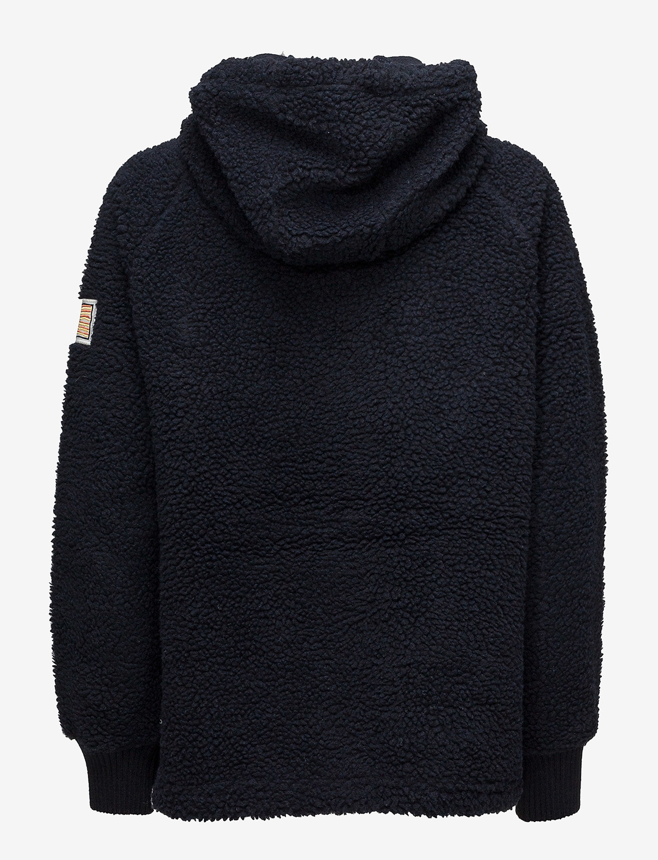 Svea - Ophelia Pile Hood - hoodies - dark navy - 1