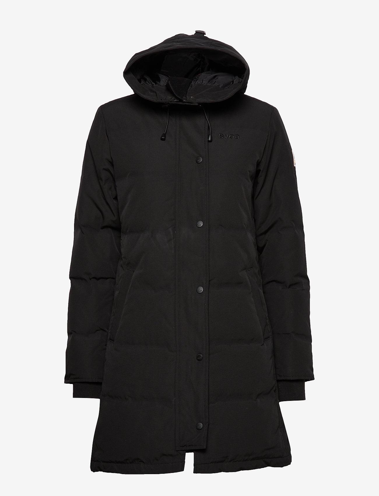 Svea - Ida Jacket - padded coats - black - 1
