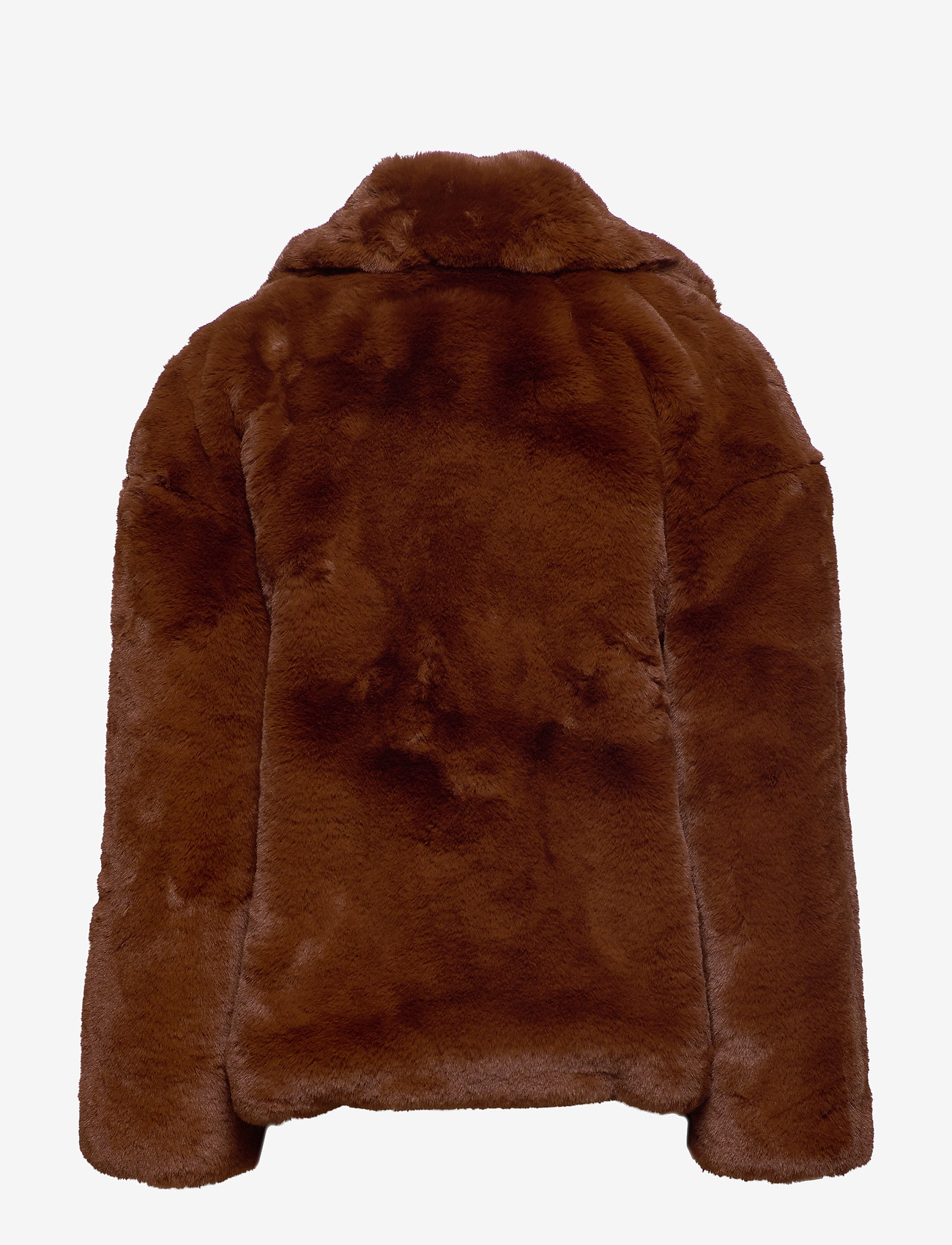 Svea - Kennedy Jacket - faux fur - brown - 1