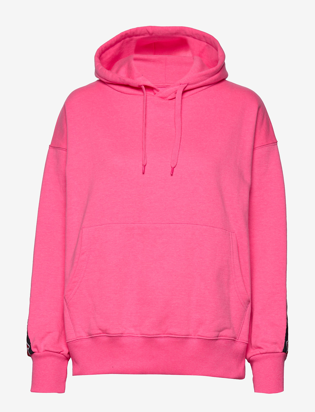 Svea - Janet Hood - bluzy z kapturem - neon pink - 0