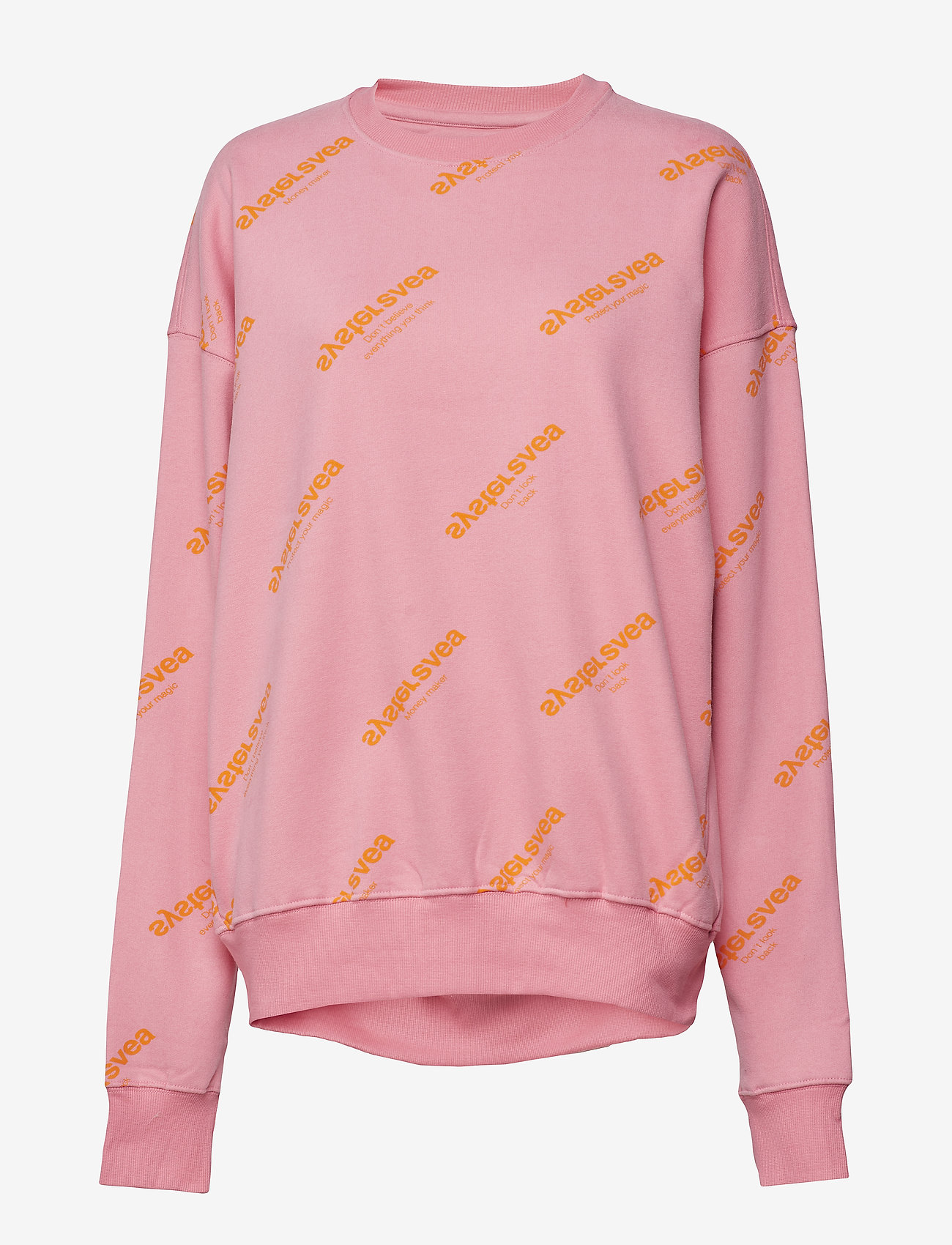 Svea - Mapey Sweat - sweats - pink/orange