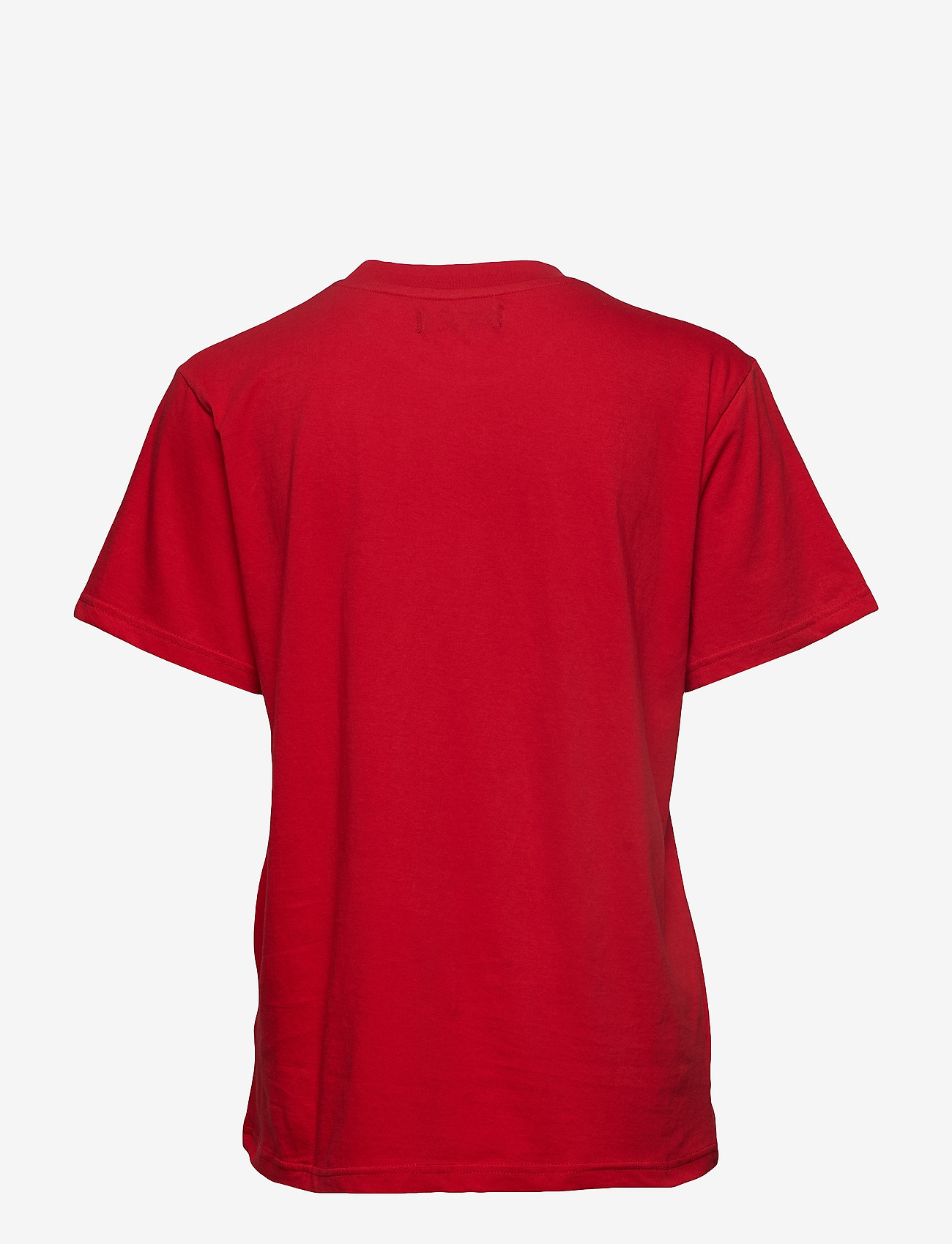 Svea - Oxford Tee - t-shirts - bright red