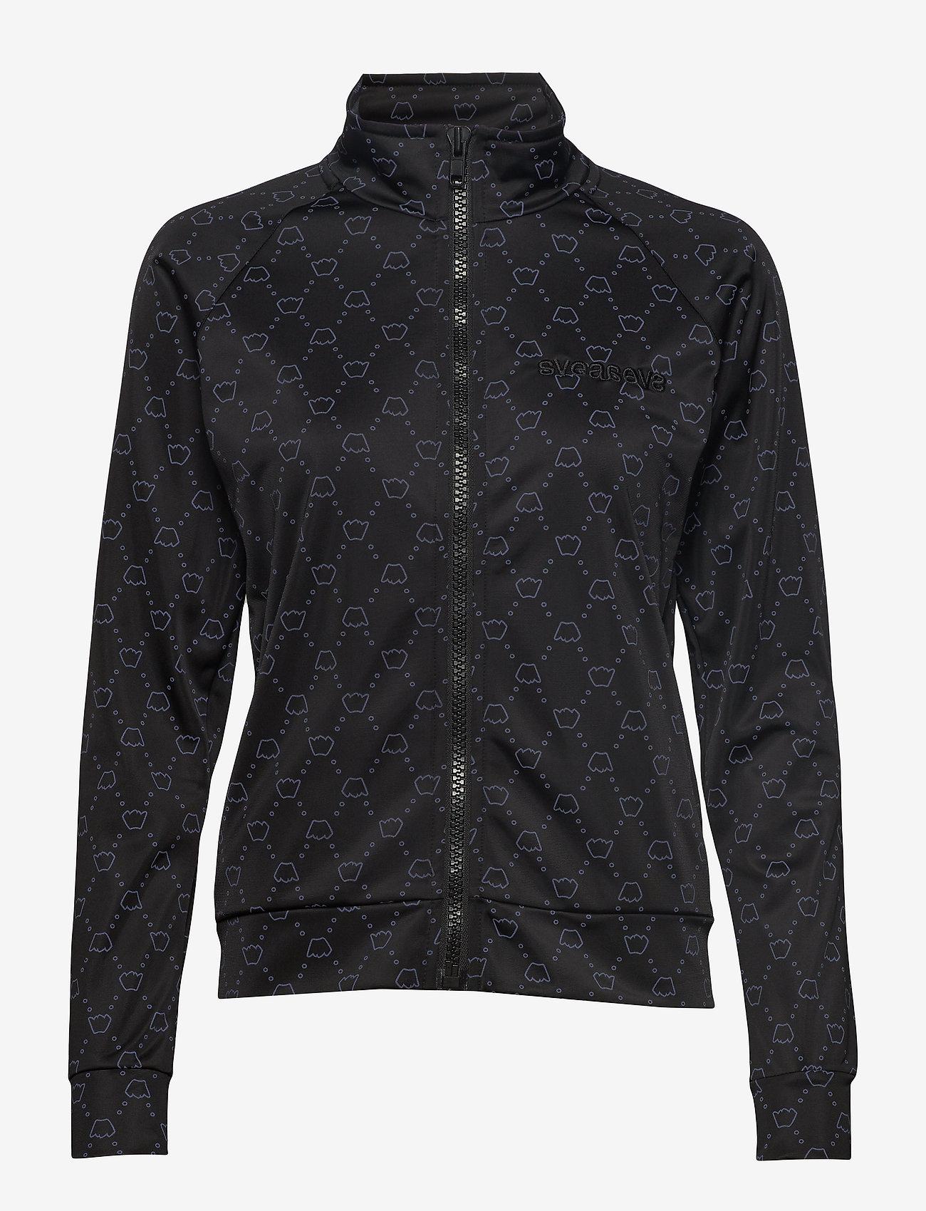 Svea - Moskva Jacket - sweatshirts - black