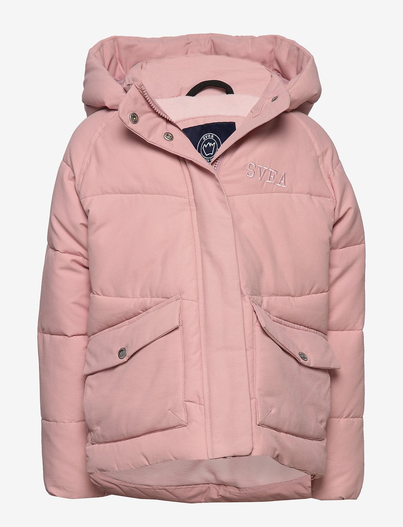 Svea - Short Padded JR Jacket - puffer & padded - soft pink - 0