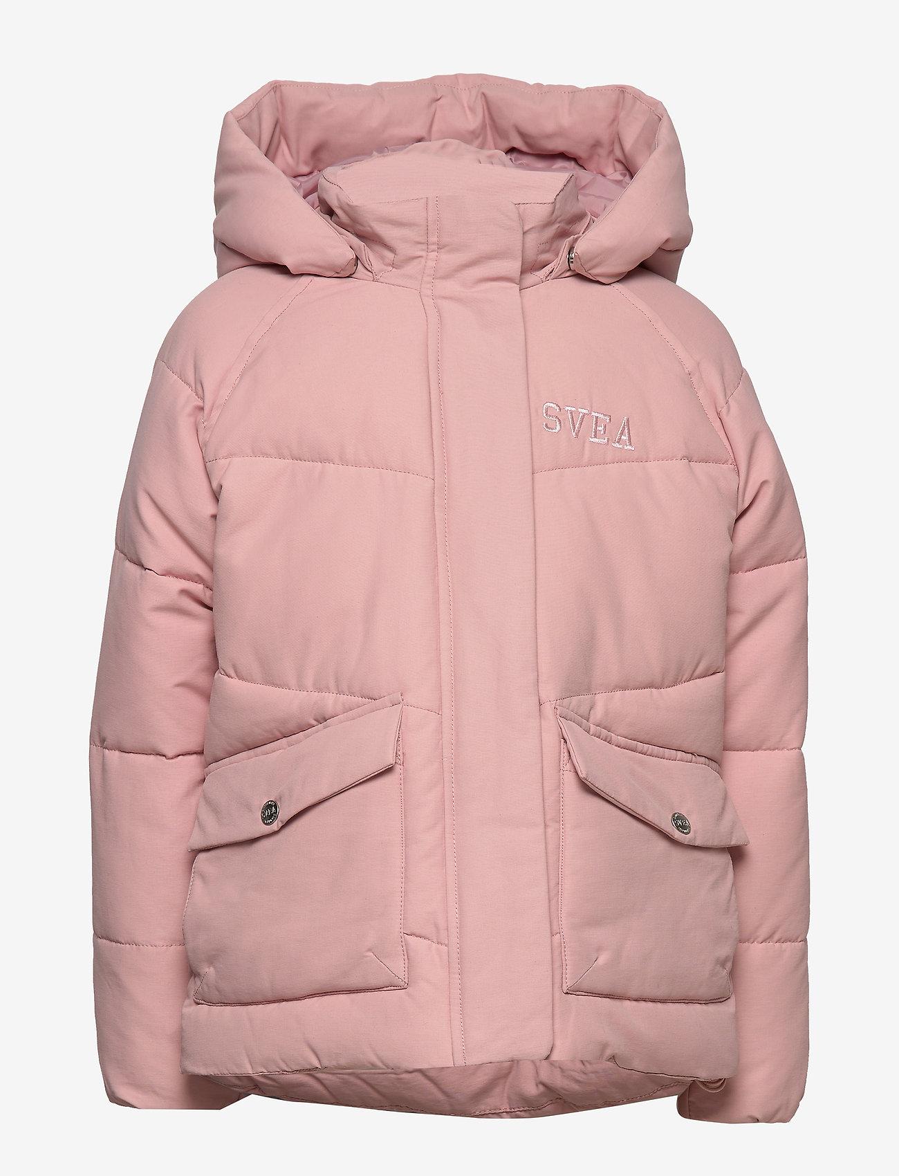 Svea - Short Padded JR Jacket - puffer & padded - soft pink - 1