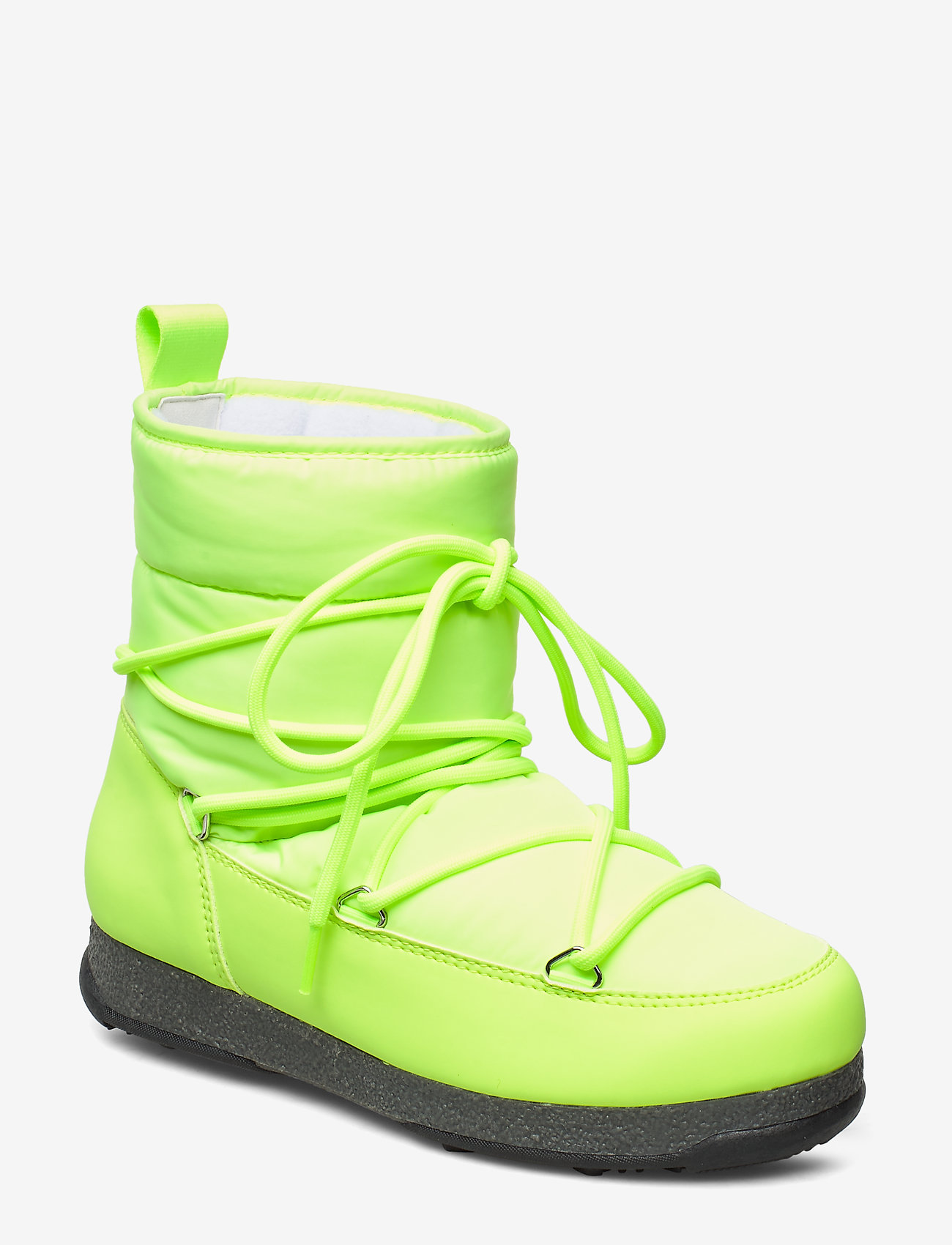 Svea - Snowflake Low - flat ankle boots - neon yellow - 0