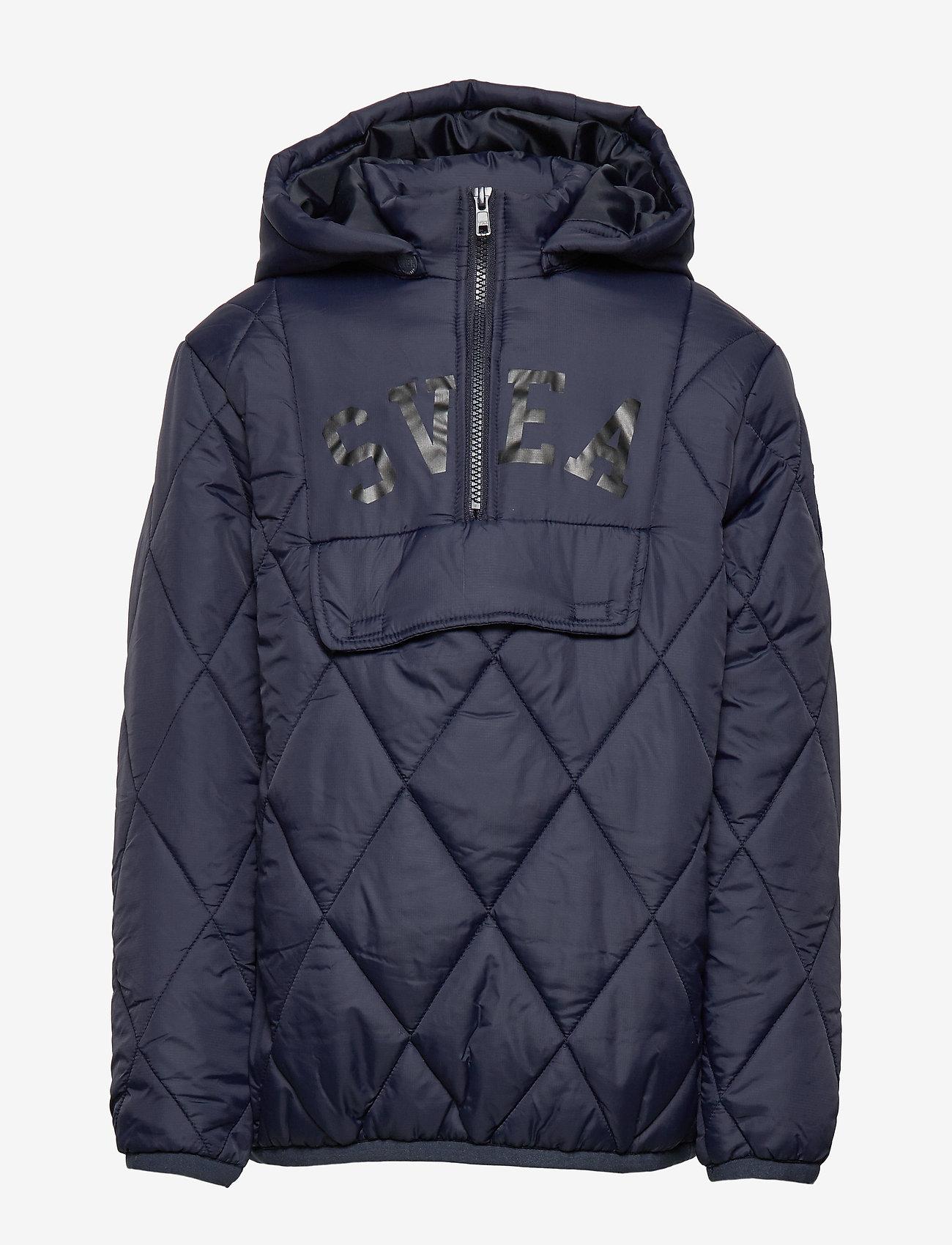 Svea - K. Quilted Anorak Hood Jacket - dunjakker & forede jakker - navy - 1