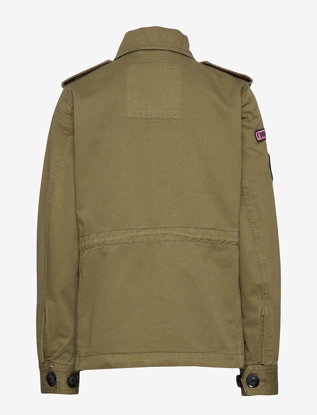 Svea - K. Army Jacket - denimjakker - army - 1