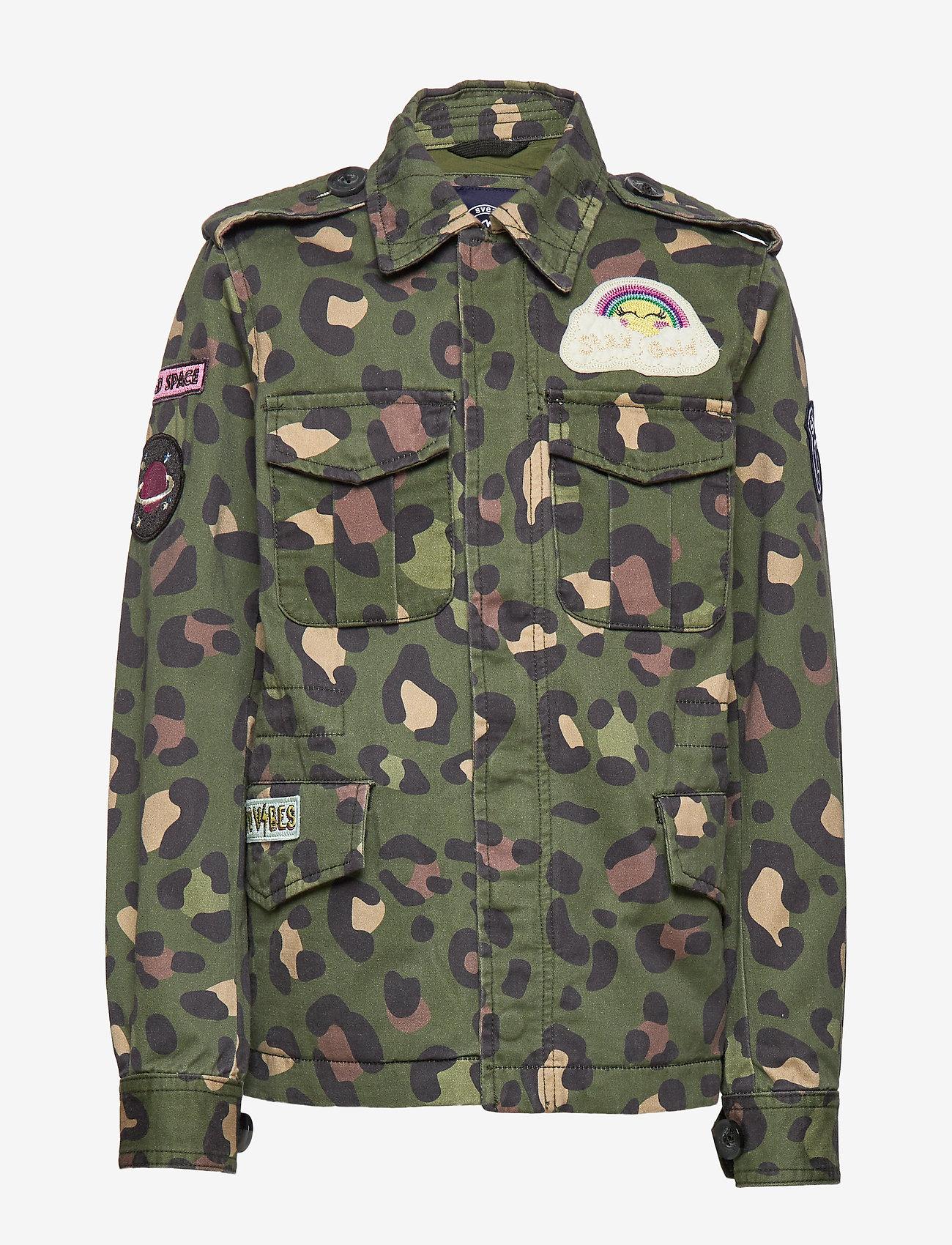 Svea - K. Army Jacket - denimjakker - green leo - 0