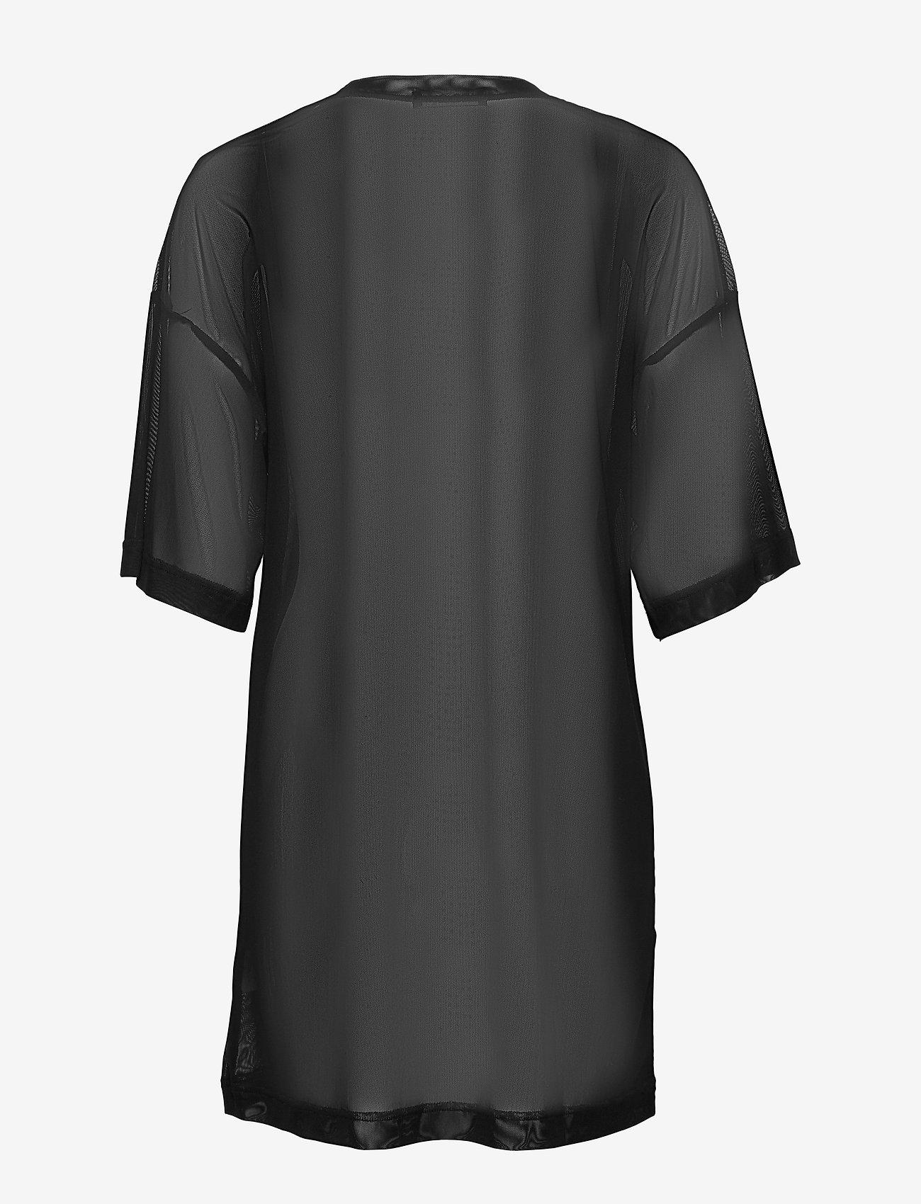 W. Mesh T-shirt Dress (Black) - Svea Zl80Gl