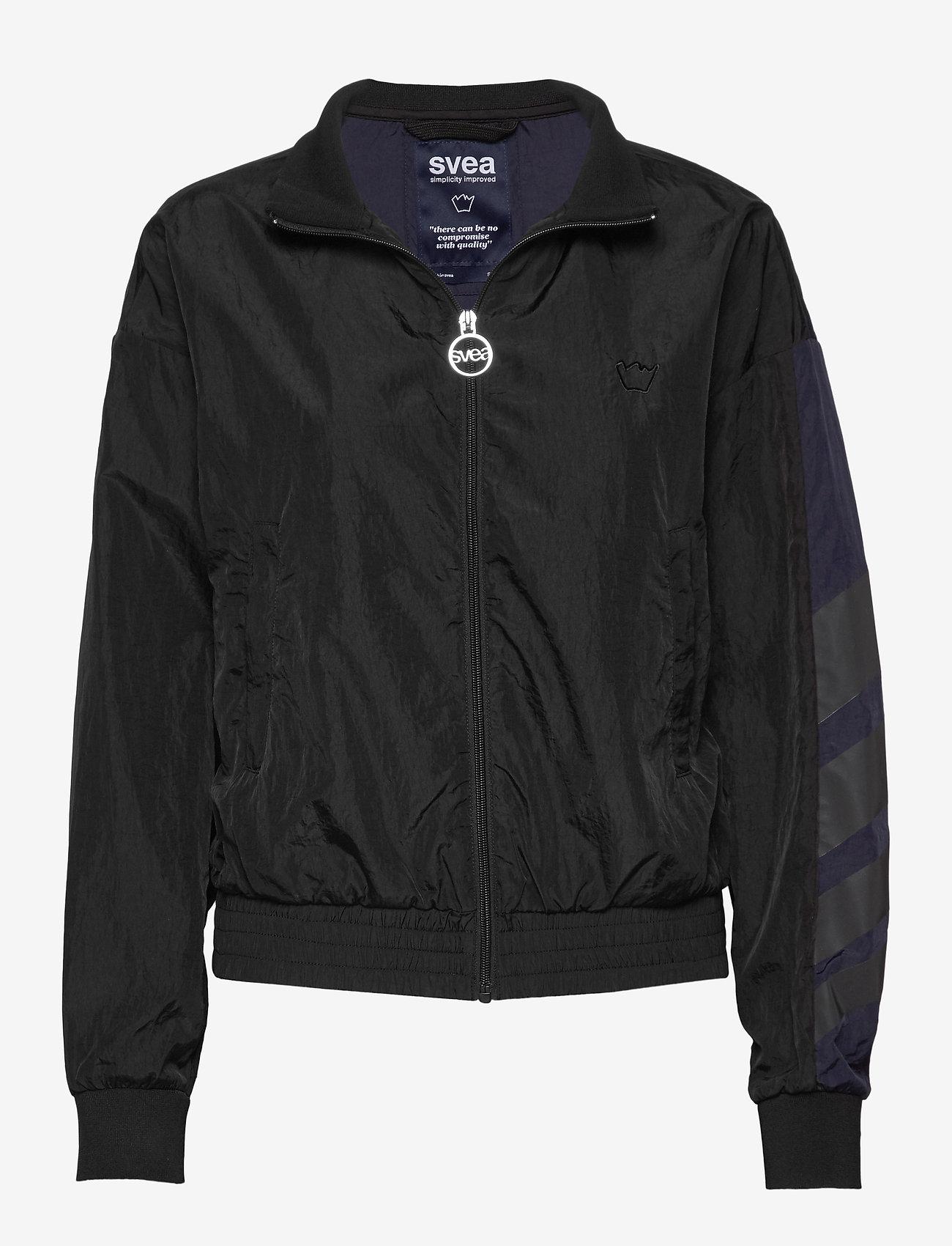 Svea - U. Dark Windbreaker Jacket - lichte jassen - black - 0
