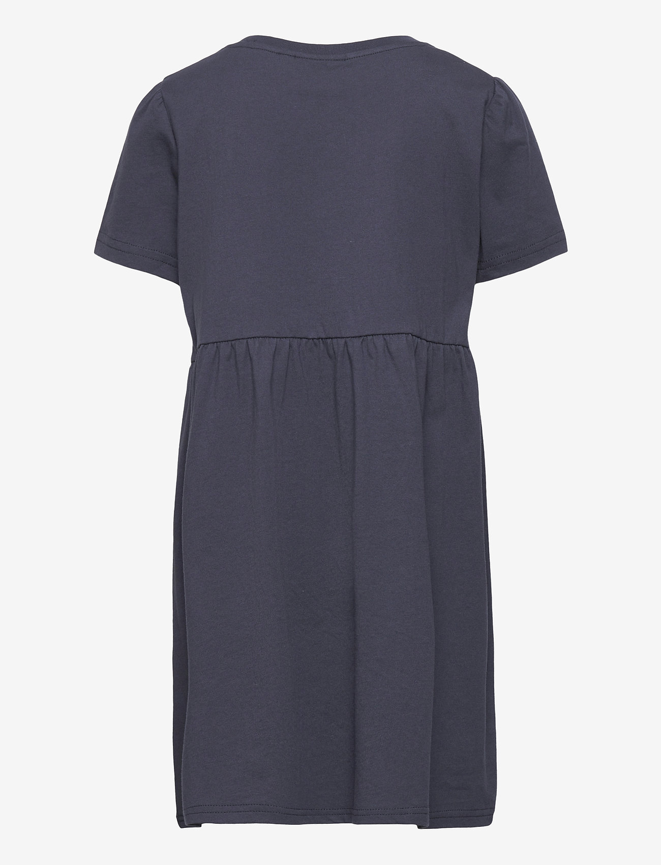 Svea - K. T-shirt Frill Dress - kleider - navy - 1