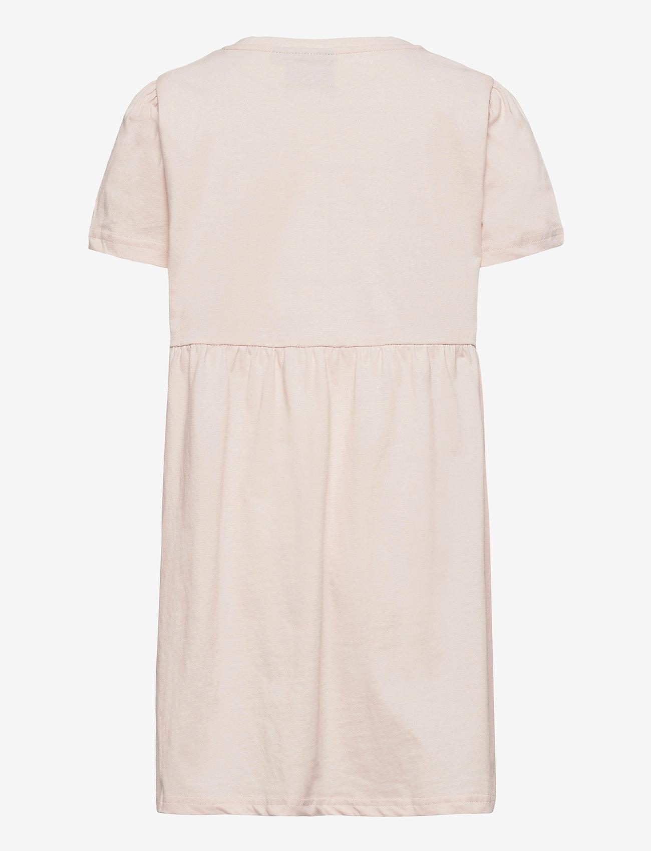 Svea - K. T-shirt Frill Dress - kleider - nude - 1