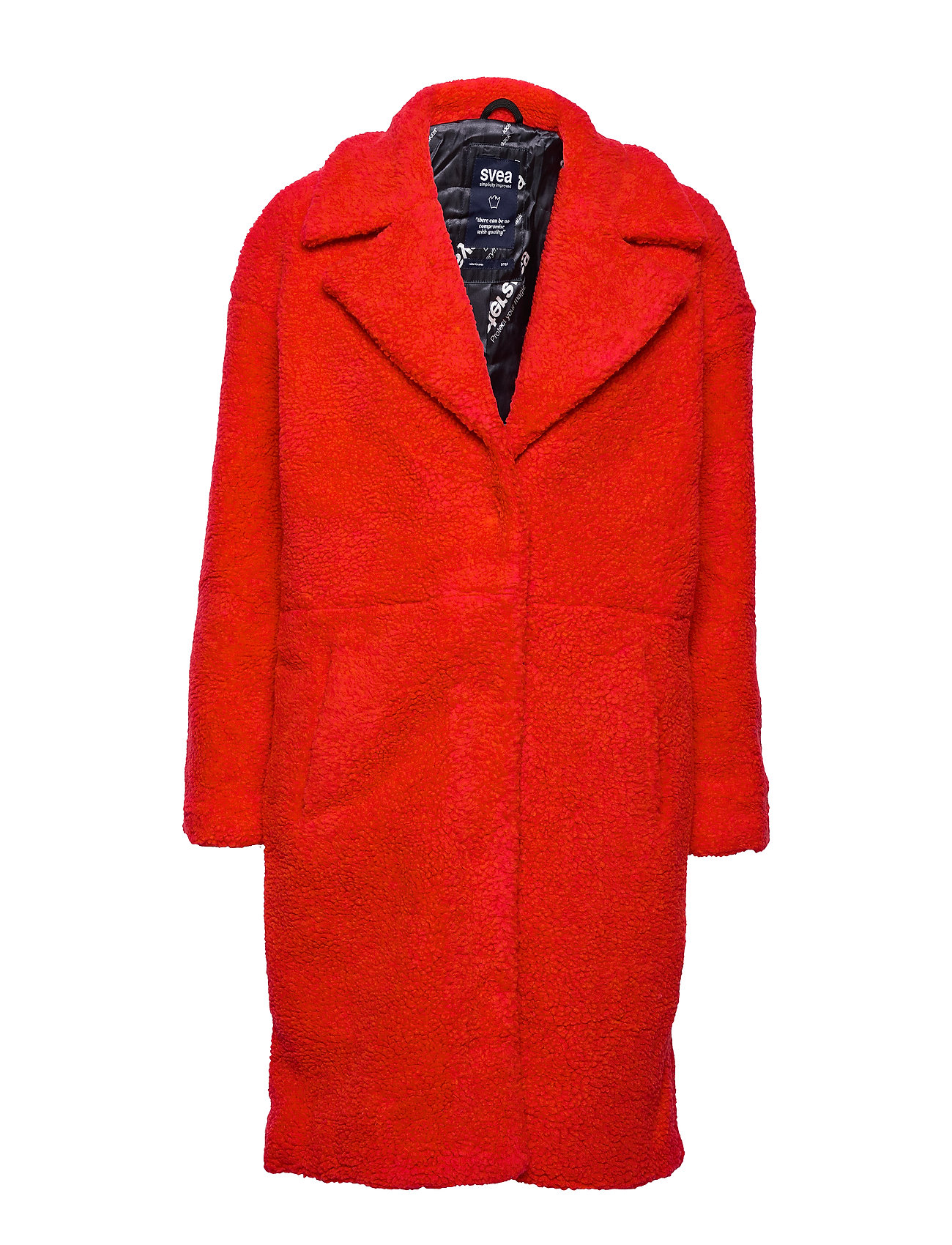 Svea Marble Jacket - BRIGHT RED