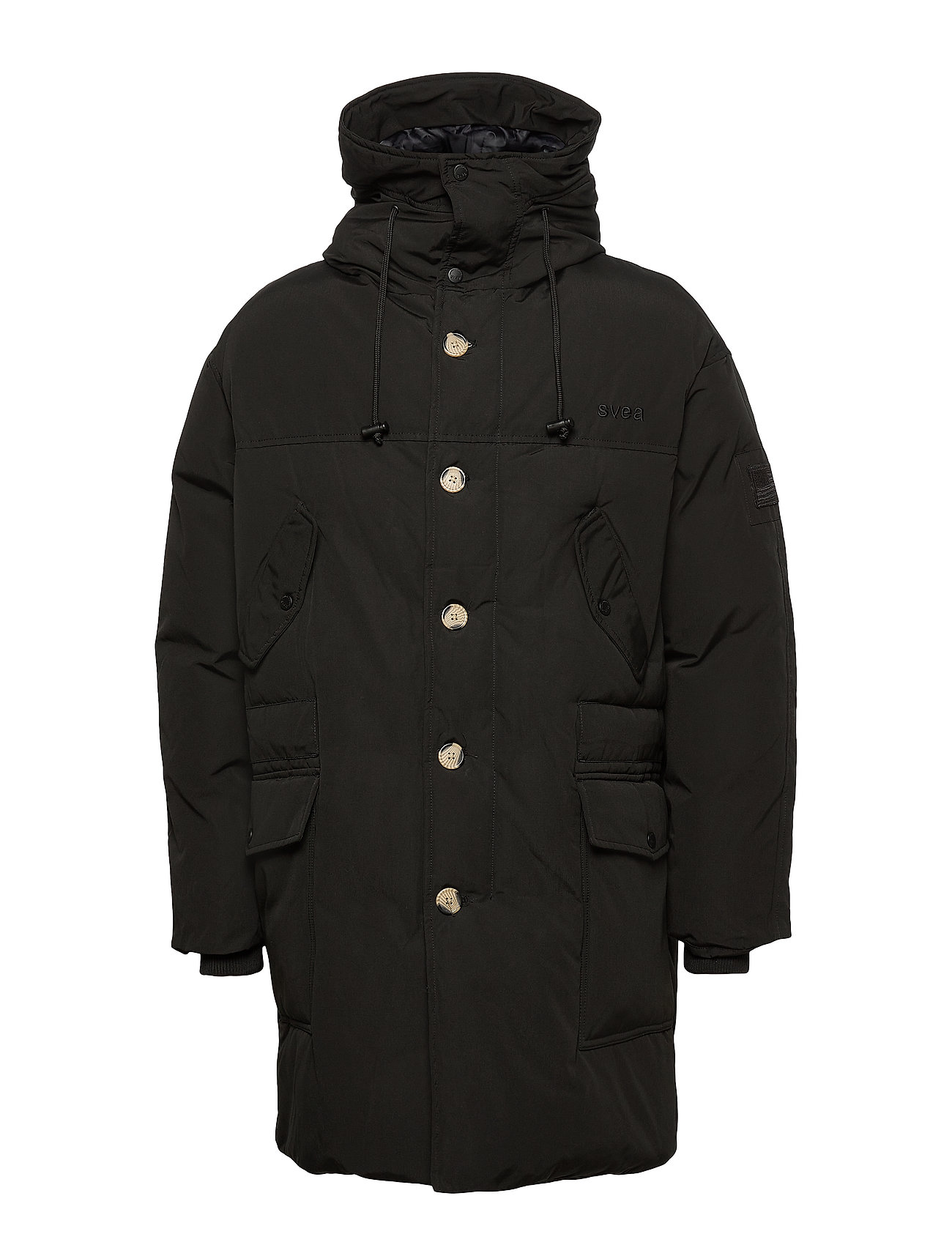 Svea Carter Jacket - BLACK
