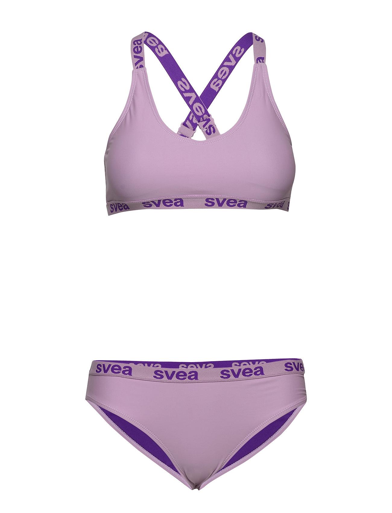Svea W. Logo Cross Strap Bikini - Badkläder