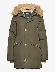Svea - Miss Smith Jacket - padded coats - dark army - 0