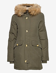 Svea - Miss Smith Jacket - padded coats - dark army - 1