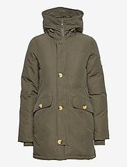 Svea - Miss Smith Jacket - padded coats - dark army - 2