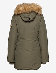 Svea - Miss Smith Jacket - padded coats - dark army - 3